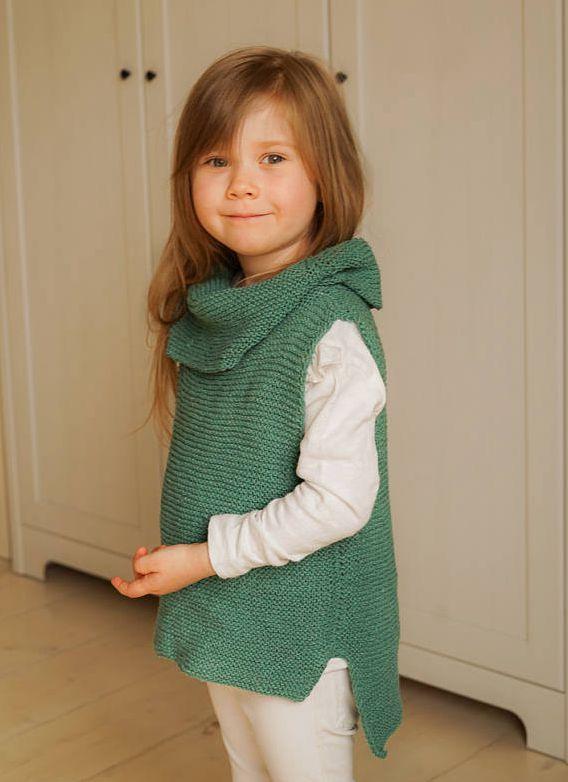 40ec33bc3856f Kids Knitting Pattern Basic Sleeveless Turtleneck Jumper - Buy kids ...